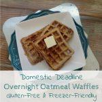 Gluten Free Waffles Overnight