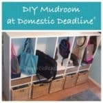 Custom Entryway Cubbies – DIY Mudroom