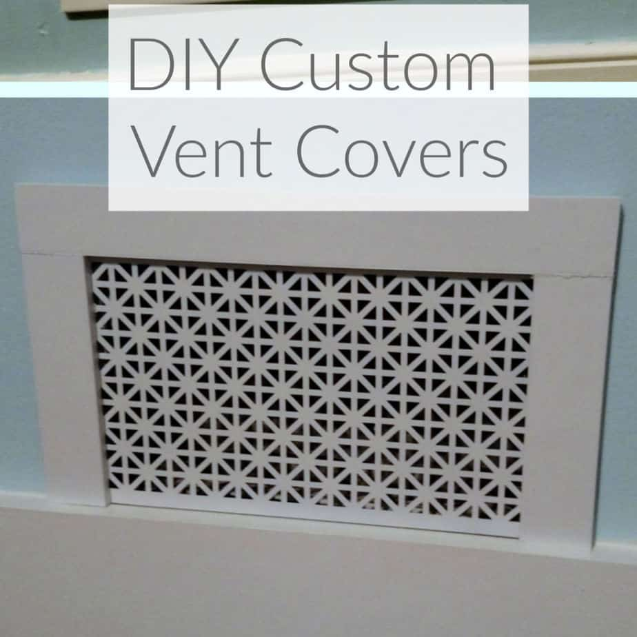 How to Make Custom Air Vent Covers  Domestic Deadline