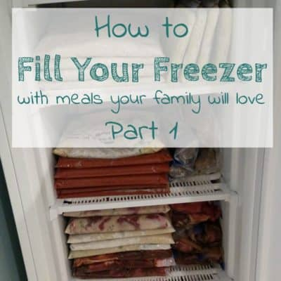 Freezer Meal Planning – Where to Start