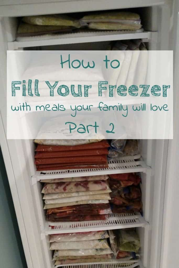 If you're ready to start making freezer meals, but don't know where to start, here is the first step in filling your freezer with meals your whole family can agree on