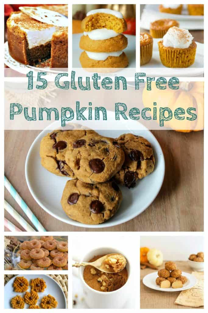 15 Gluten Free Pumpkin Recipes to bake this fall
