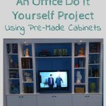 Custom Built-Ins: Office DIY Project