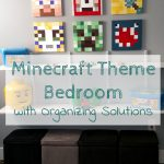 Minecraft and Lego Bedroom