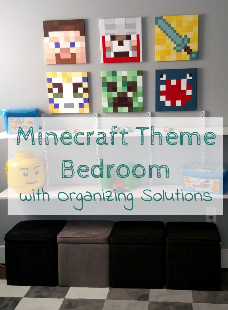 creating an organized theme room that both mom and son can agree on