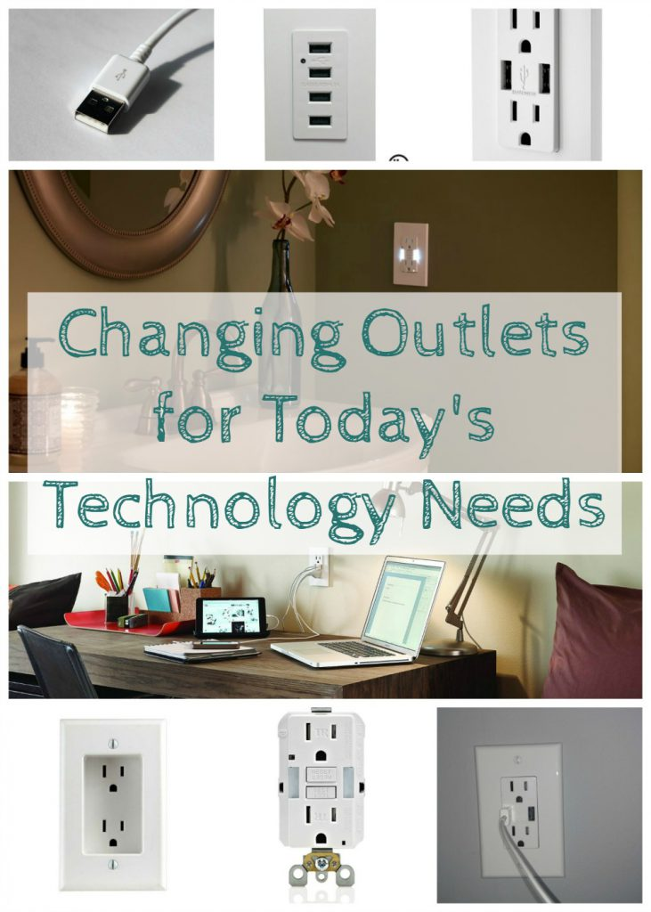 updating outlets for today's technology