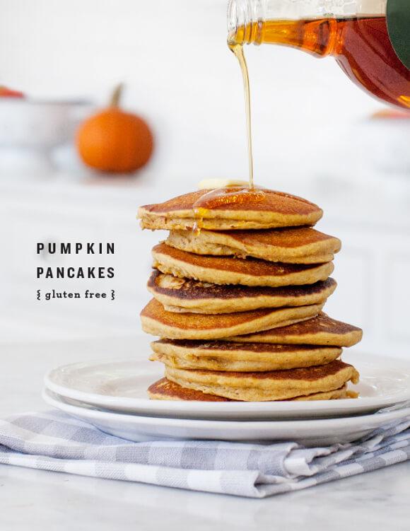 pumpkin pancakes, gluten free style, in honor of the #GilmoreGirlsRevival