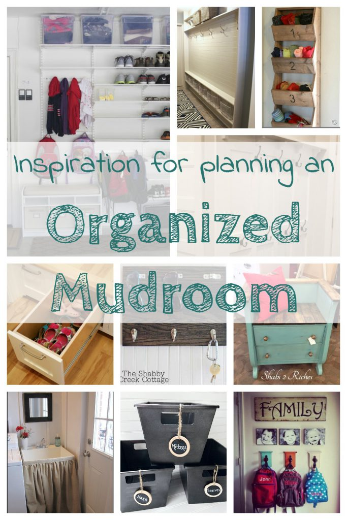 Organized mudroom inspiration