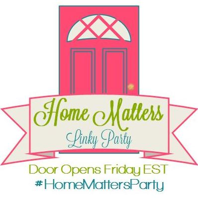 Home Matters Linky Party