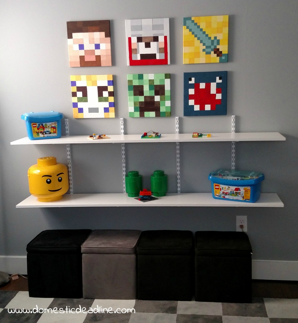 Adding Shelves for Storage, Display, and Organization