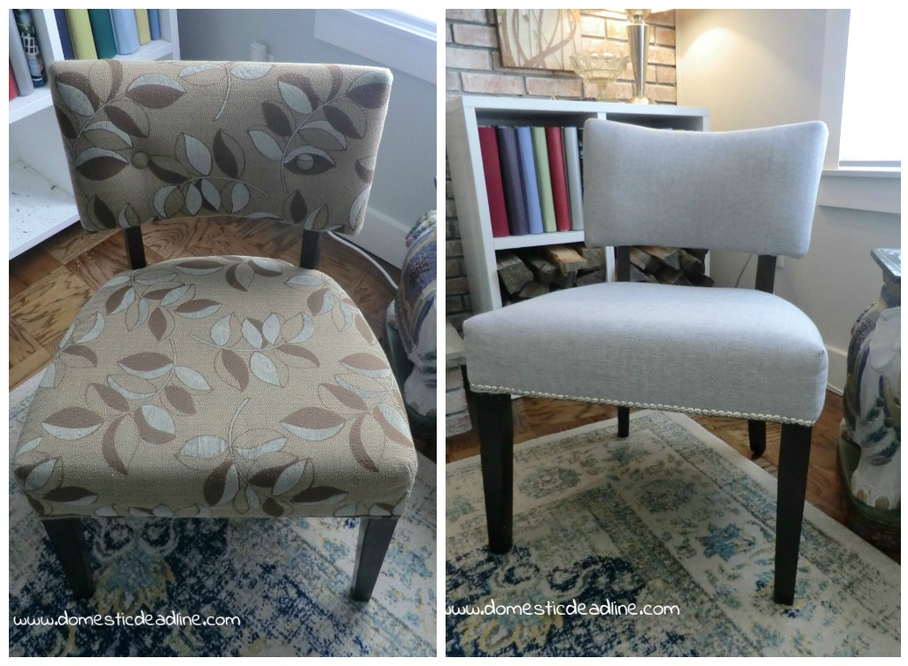 How to Upholster an Occasional Chair - A DIY Photo Tutorial - Part 2
