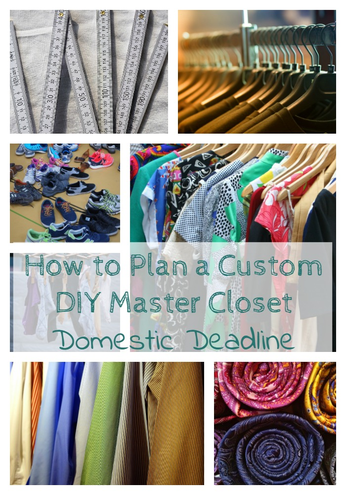 How to Plan a Custom DIY Master Closet
