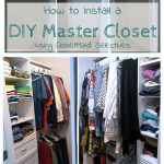 How to Install a DIY Master Closet