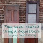 Stripping and Restoring Antique Doors