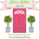 Home Matters Linky Party #161