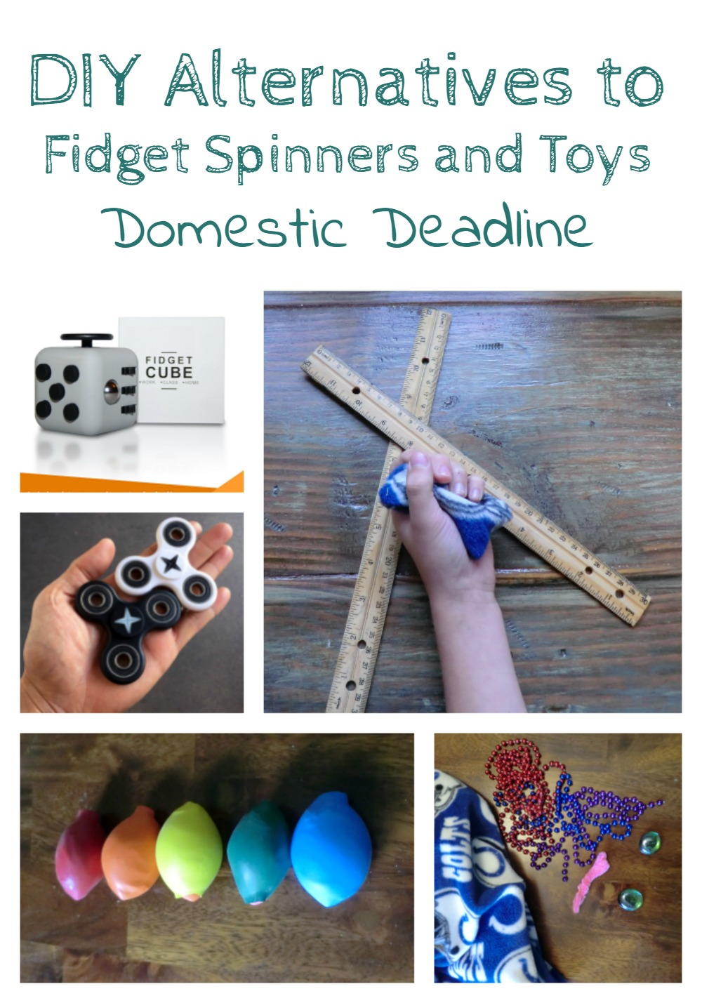 DIY alternatives to fidget spinners and fidget toys