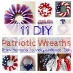 DIY Patriotic Wreaths