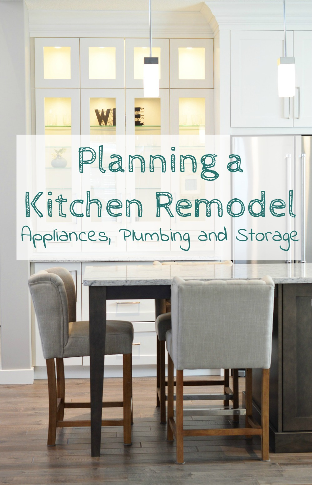 How to plan a kitchen remodel - appliances, plumbing, storage