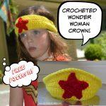 Wonder Woman Crochet Crown – Free Pattern