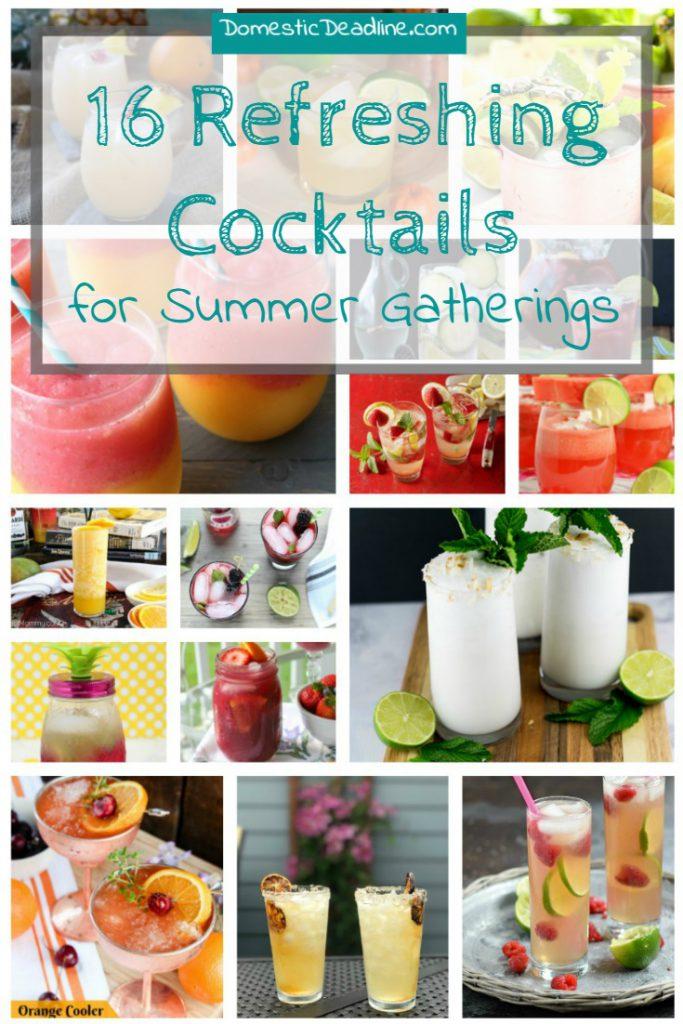 16 Refreshing Cocktails for Summer Gatherings - Domestic Deadline