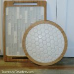 DIY Tile Trays and Lazy Susan