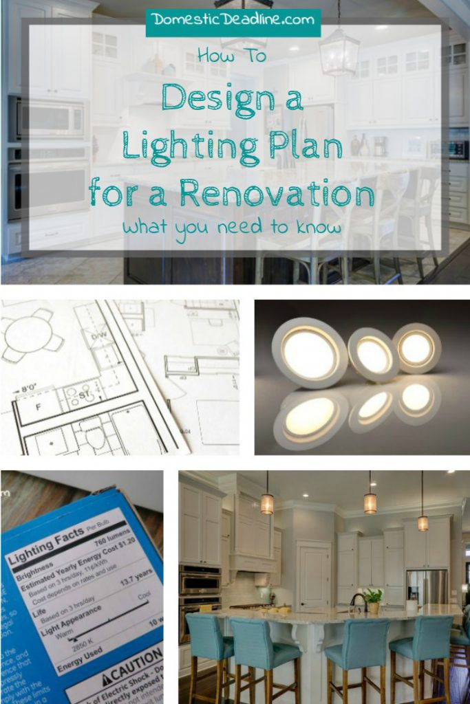 Designing a Lighting Plan for a Renovation - Domestic Deadline Why lighting is important, what you need to know, how to choose