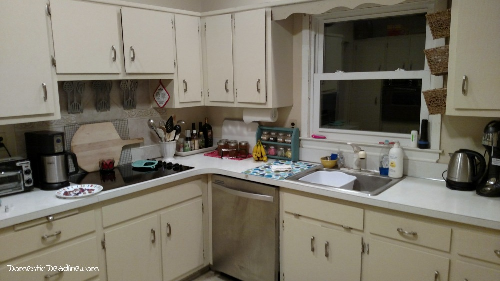 Renovation Realities - Kitchen Before - Follow along as I create my dream farmhouse kitchen - Domestic Deadline