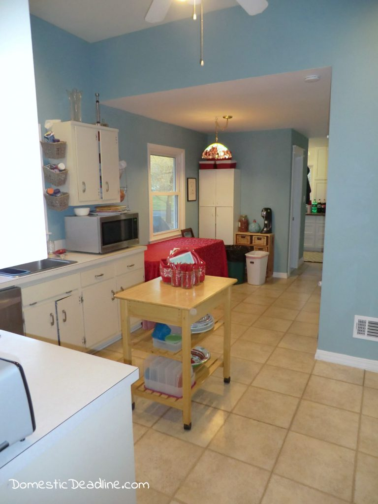 Renovation Realities - Kitchen Before - Follow along as I create my dream farmhouse kitchen - Domestic Deadline