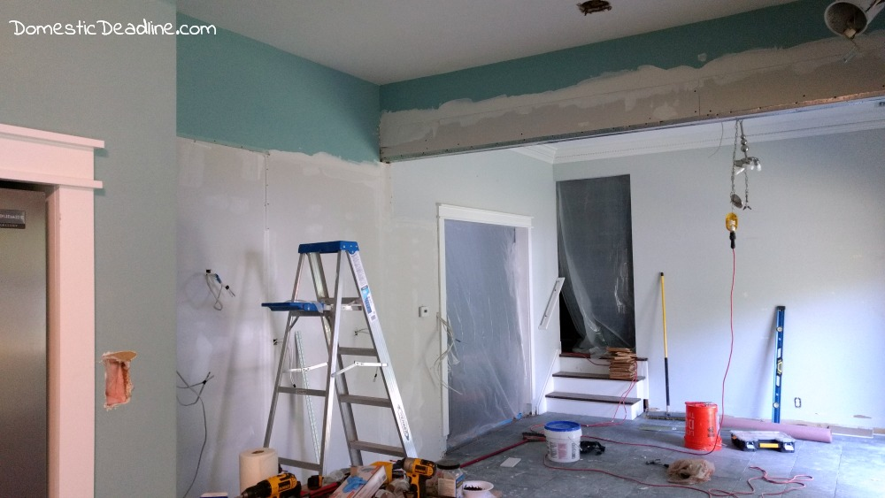 New Insulation, Drywall, Spackle, Kitchen Renovation Domestic Deadline