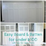 Easy Board and Batten for Under $100