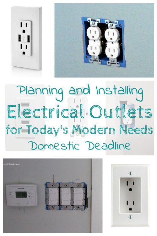 Planning And Installing Electrical Outlets In A Kitchen