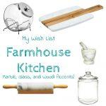 Kitchen Accessory Wish List