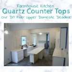 Kitchen Update – Quartz Countertops
