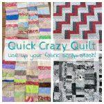 Quick Crazy Quilt Fabric Destash