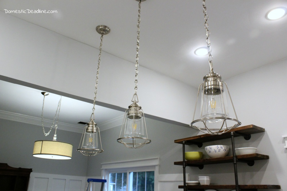 kitchen breakfast bar lighting prepossessing study. perfect kitchen farmhouse kitchen lighting the pendant lights are pulling my fixer upper  together combining brushed with kitchen breakfast bar lighting prepossessing study