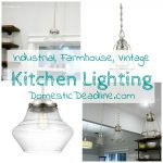 Industrial Farmhouse Kitchen Lighting