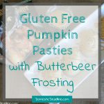 Harry Potter Inspired Gluten Free Pumpkin Pasties with Butterbeer Frosting
