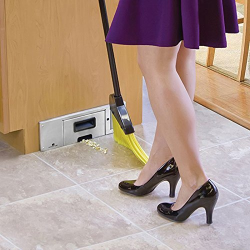 Making Kitchen Clean Up Easy - Installing a Toe-Kick Vacuum