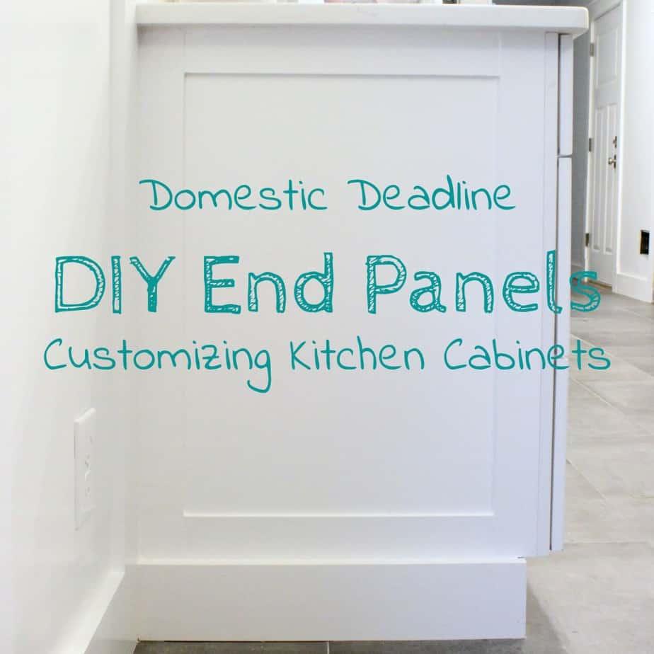 Diy Cabinet End Panels Domestic Deadline