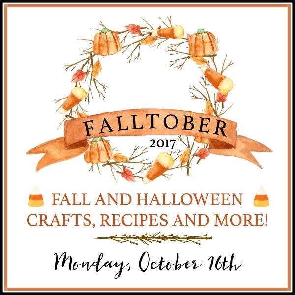 Falltober Linky Party 2017 - Fall and Halloween Crafts, Recipes and More - Domestic Deadline