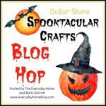 Dollar Store Halloween Craft Blog Hop
