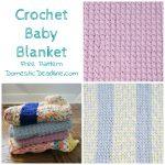 Easy Baby Blanket – Craft Room Destash