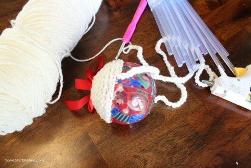 DIY Knit Christmas Ornament - Domestic Deadline