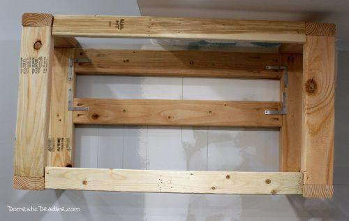 Building a custom range hood cabinet for under $250 for my farmhouse fixer upper kitchen - Domestic Deadline
