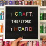 Craft Room Organization – Attempt 1