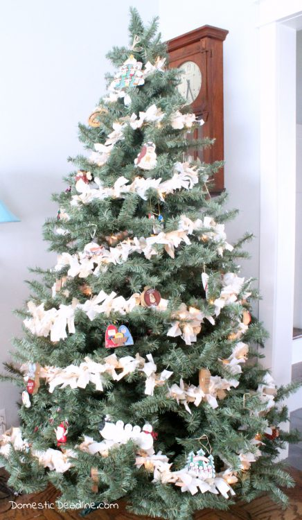 Deck the halls and trim the tree, Day 12 of the 12 Days of Christmas Blog Hop is Christmas Trees! Come check out lots of ideas. - Domestic Deadline