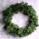 DIY Light Up Wreaths