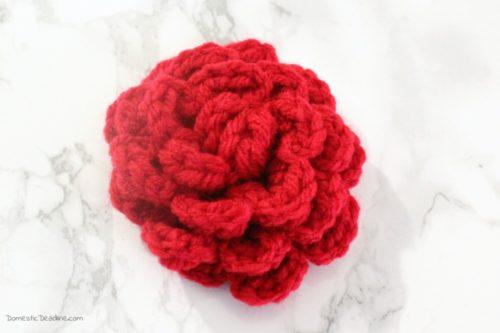 Easy Crocheted Roses