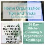 Home Organization – After Holiday Routines + HM #167