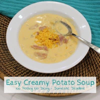 Easy Creamy Potato Soup